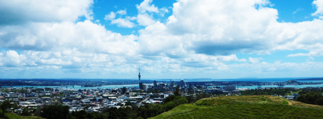 View from Mt Eden