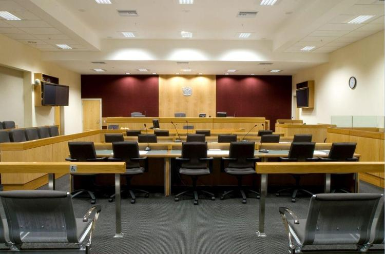 Courtroom-Layout